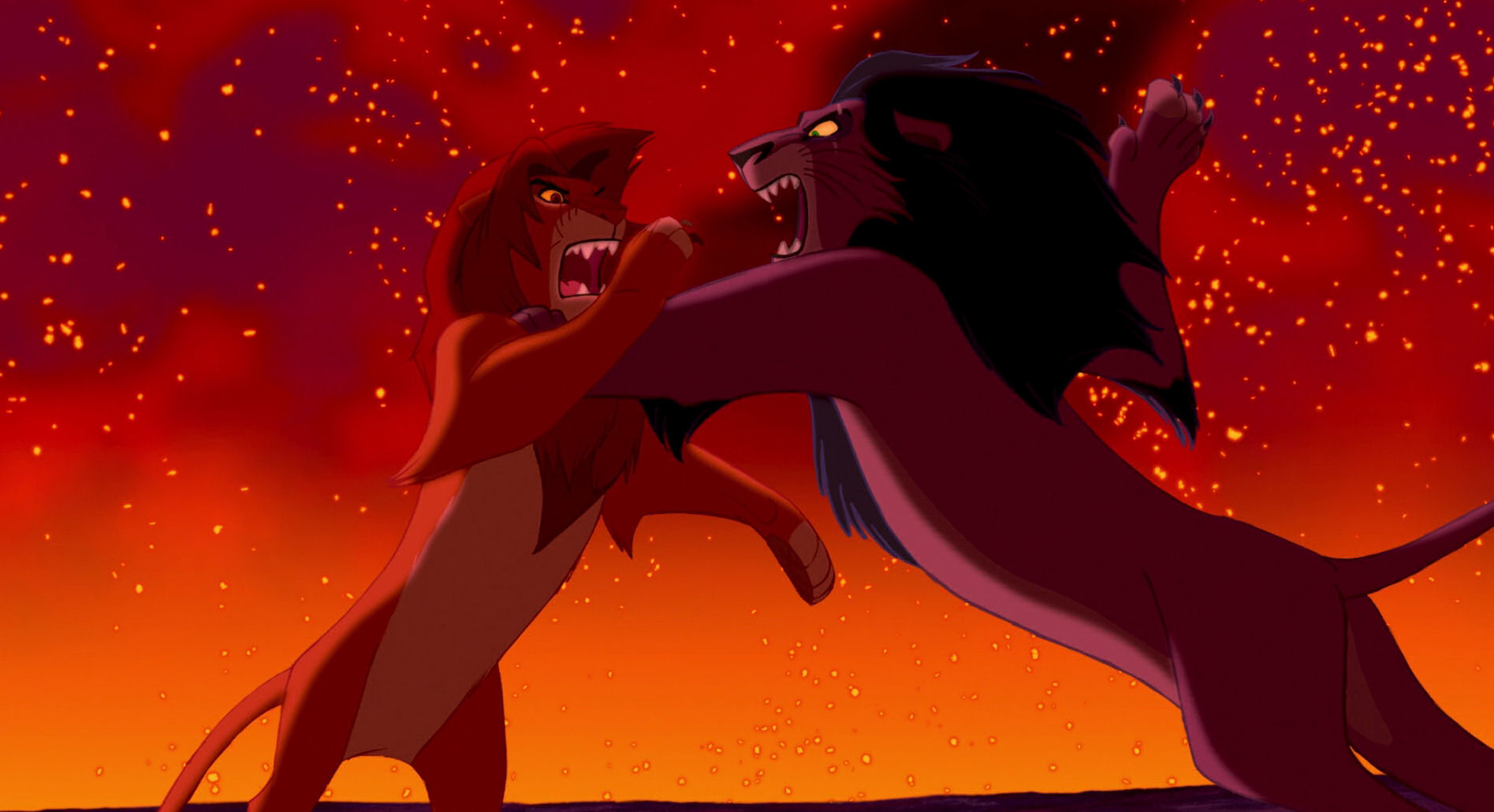 the battle between good and evil in the lion king The lion king ii: simba's pridenote later retitled with the arabic numeral 2 as the lion king 2: (scar and the hyenas are evil everyone else is good).