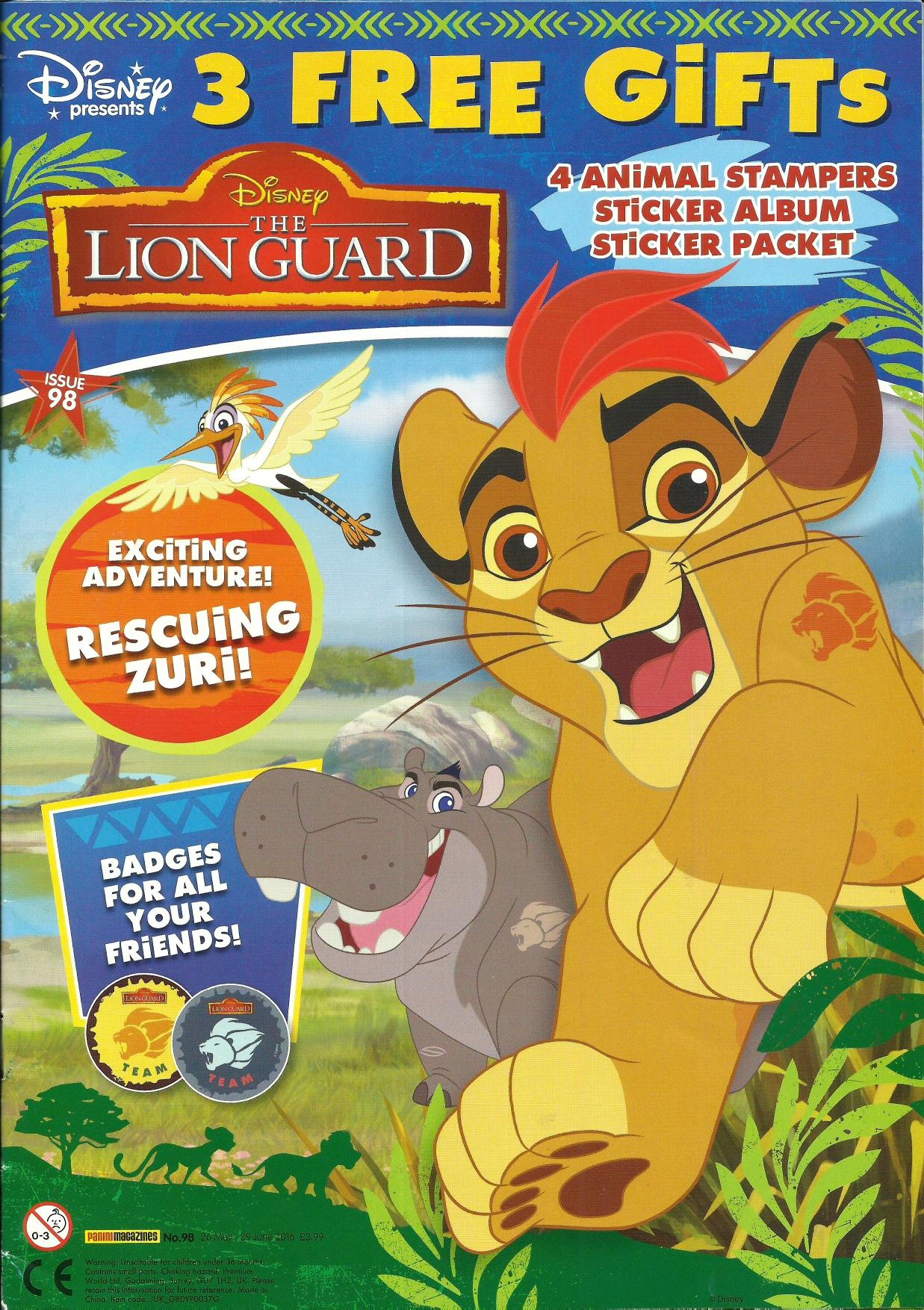 The Lion Guard Magazine The Lion King Wiki Fandom