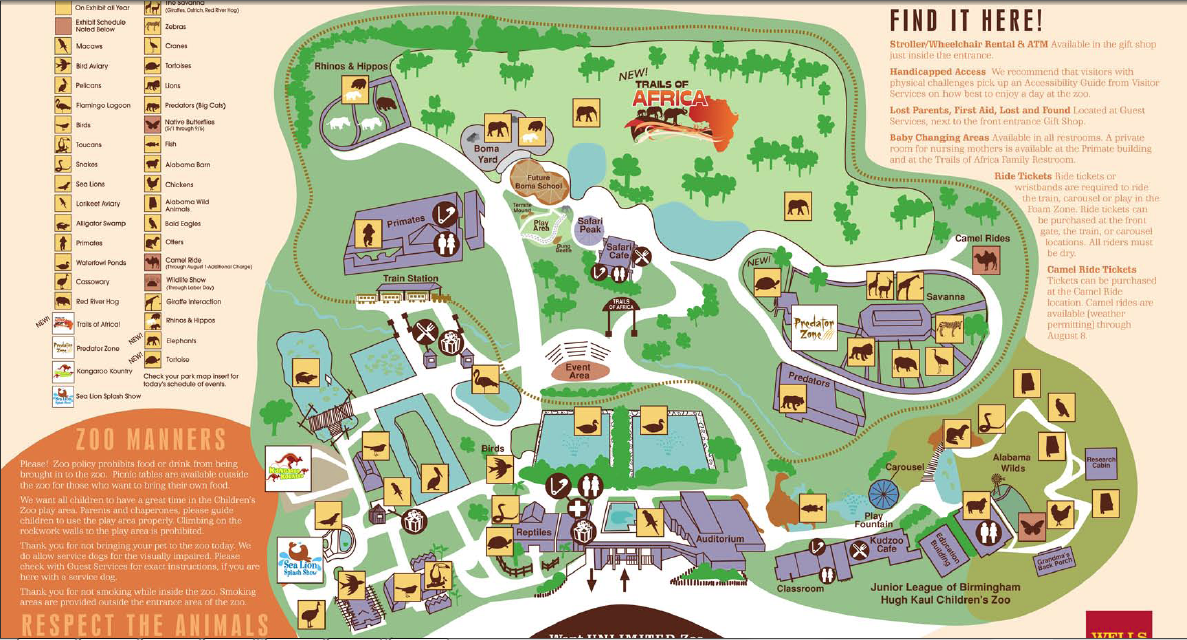 Birmingham zoo map - Auburn hills mi restaurants on nevada county fairgrounds map, american river bicycle trail map, city of detroit ward map, zoo miami map, sacramento international airport map, cincinnati zoo map, nashville zoo map, san diego zoo safari park map, downtown sacramento map, city of sacramento parking map, el dorado county fair map, port of sacramento map, zoo atlanta map, jacksonville zoo and gardens map, oklahoma city zoo map, grant's farm map, monterey bay aquarium map, point defiance zoo & aquarium map, virginia zoological park map, indiana state museum map,