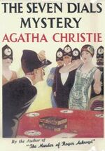 The Seven Dials Mystery First Edition Cover 1929
