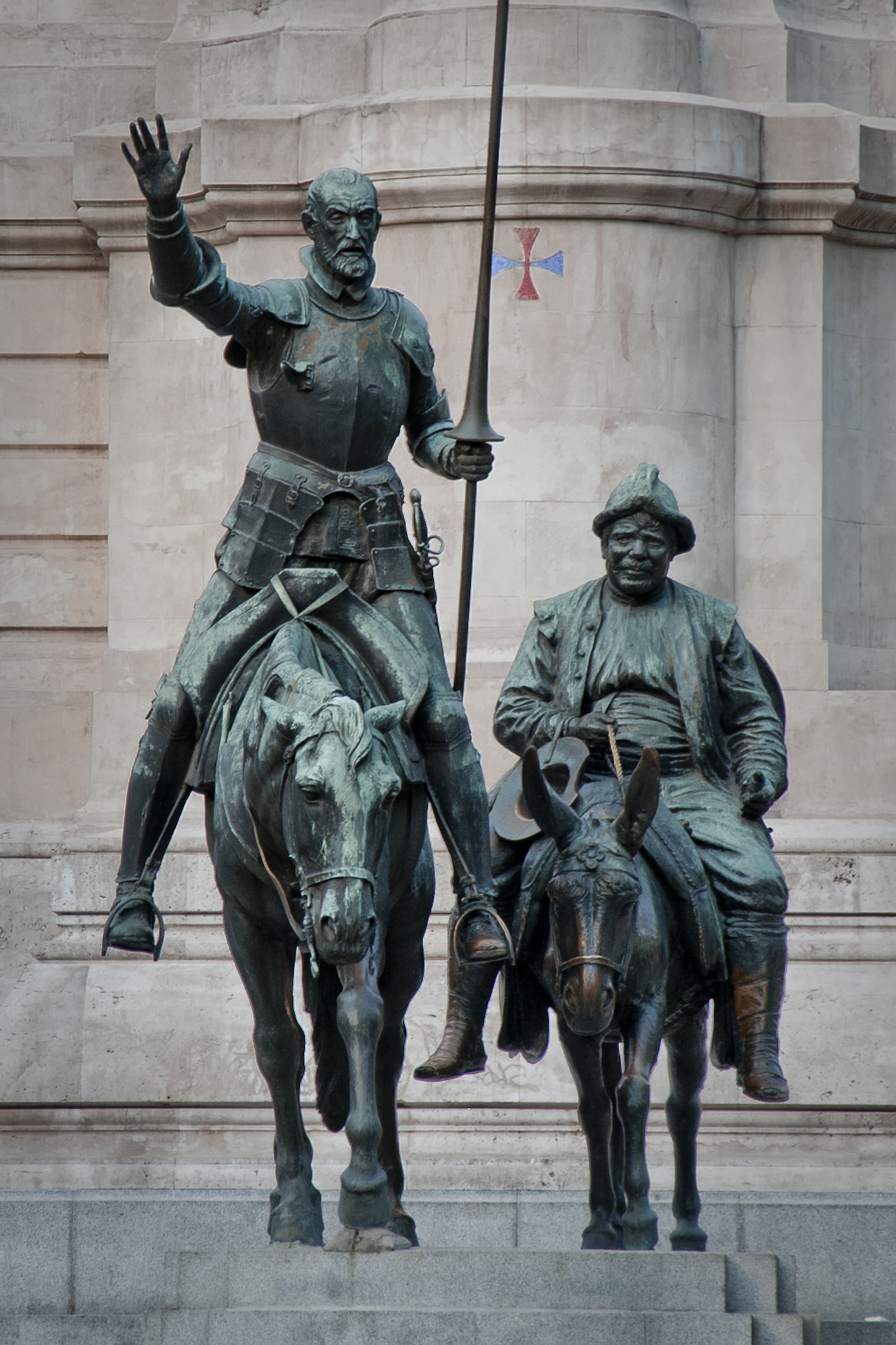 don quixote and sancho panza relationship with god