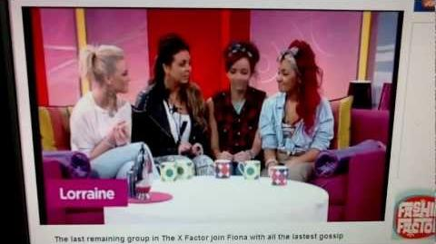 Little Mix on Lorraine