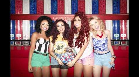 Little Mix M&M's behind the scenes