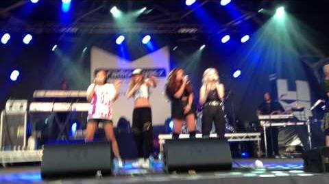 Little Mix - Girl Band Mash-Up At the Liverpool International Music Festival