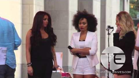 "Little Mix Un-Aired Performance Of ""Move"" On The Today Show"