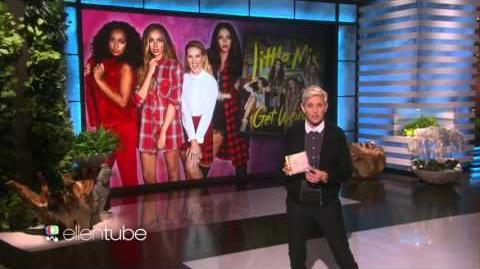 """Little Mix performing """"Black Magic"""" at The Ellen DeGeneres Show"""
