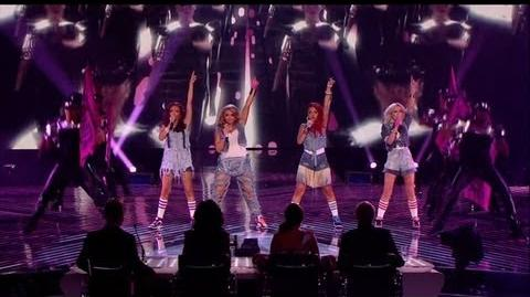Little Mix head back home - The X Factor 2011 Live Final - itv