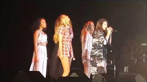 "Little Mix ""Black Magic"" Live at 997Now's Summer Splash at Great America - 8 13 15"