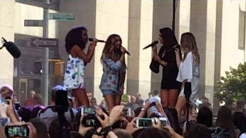 Little Mix - The End - Today Show Concert 8 19 15