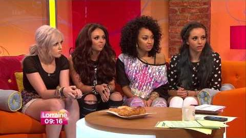 Little Mix Interview on Lorraine 9 5 13