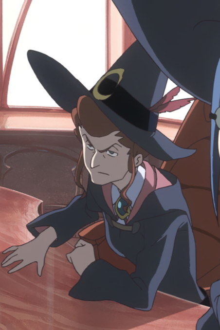 Image result for Finnelan little witch academia