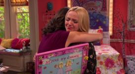 Karen Hugging Liv