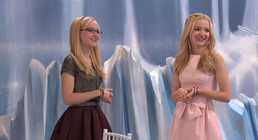Liv and Maddie at Wedding