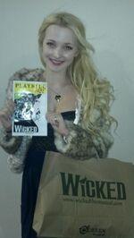 Dove Cameron wicked playbill