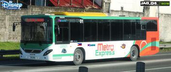 Liv and Maddie Metro Express (LIV AND MADDIE Volvo B7R BAR Autodelta B2)