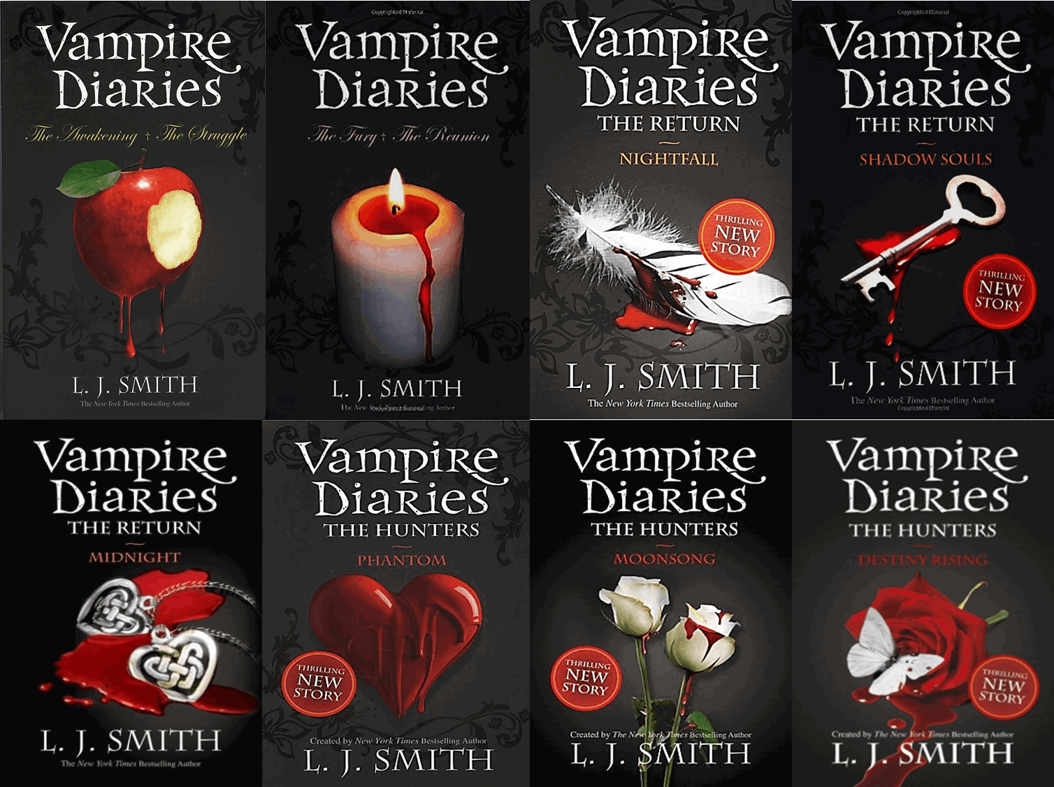 Book Cover Series Wiki ~ The vampire diaries l j smith wiki fandom powered by