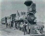 Union Pacific steam locomotive 924