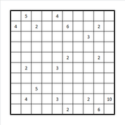 Checkered Fillomino Example