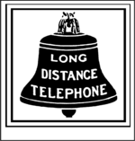 Bell System hires 1889 logo