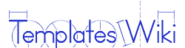 Templates Wiki-wordmark
