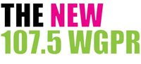 The New 107.5 WGPR logo