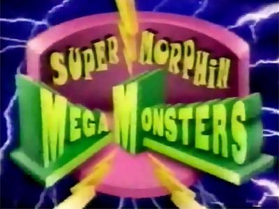 Super Morphin Mega Monsters logo