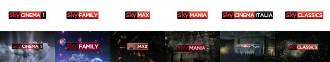 Sky Cinema idents and logos 2010