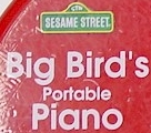 Big Bird's Portable Piano logo