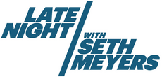 Latenight with seth meyers logo detail