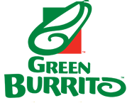 New green burrito logo