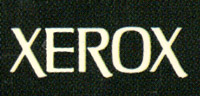 1963 Xerox Logo