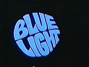 Blue Light TV series title card
