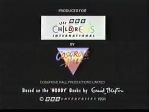 Noddy 1993 End Card