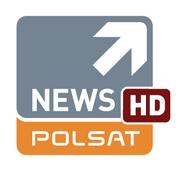 Polsat news HD logo