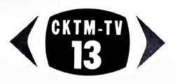 CKTM-TV logo 1964