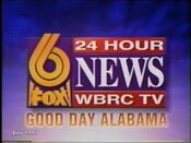 WBRC-TV's FOX 6 News Good Day Alabama video open from July 1997