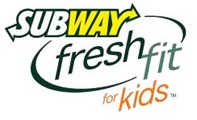 Subway fresh fit for kids logo