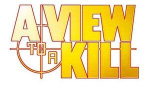 A View to a Kill Logo 2