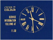 BBC 2 Clock 1967