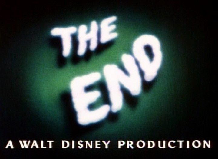The End A Walt Disney Production Logopedia  Motorcycle