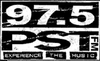 97.5 WPST FM logo