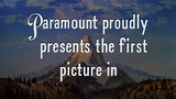 Paramount Pictures Presents First Film