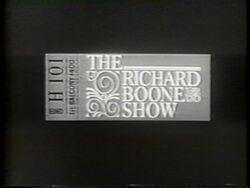 TheRichardBooneShow