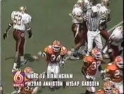 WBRC Station ID During Florida State vs Clemson 1995