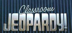 Classroom Jeopardy header