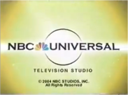 NBC Universal 2004 Copyright Stamp