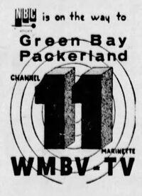 WMBV-TV 1954