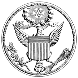 US Great Seal 1782 drawing