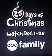 Abc family 25 days of christmas logo 2015