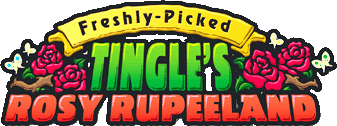 Freshly-Picked Tingle's Rosy Rupeeland (logo)